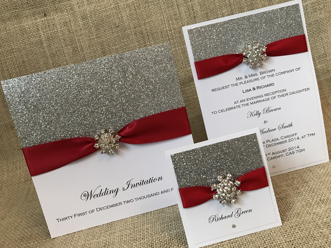 Flat Card Invitations - To Have and To Hold Wedding Stationery ...