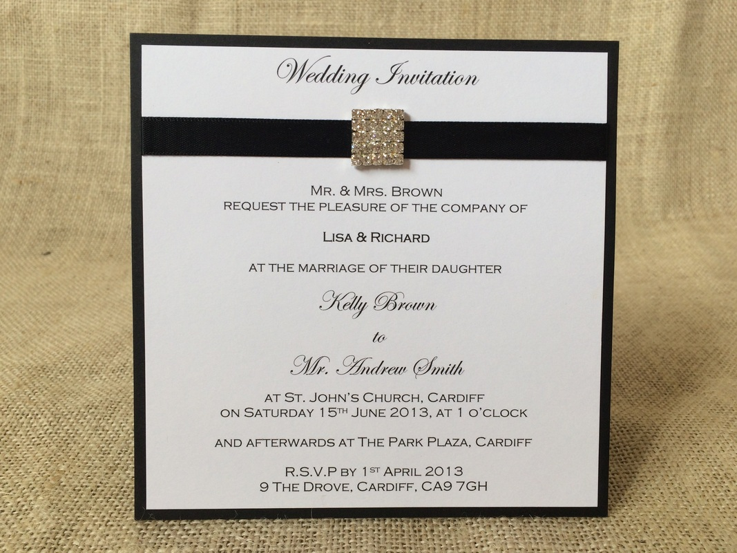 Invitations (Day & Evening) - To Have and To Hold Wedding ...