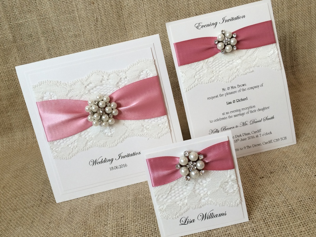 Devotion To Have and To Hold Wedding Stationery Beautifully